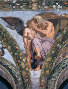Cupid Pleads with Jupiter for Psyche