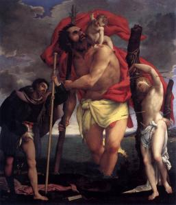 Sts Christopher, Roch, and Sebastian