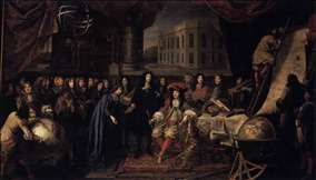 Colbert Presenting the Members of the Royal Academy of Sciences to Louis XIV in 1667