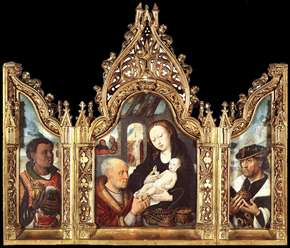 Triptych The Adoration of the Magi