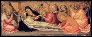 Lamentation over the Dead Christ
