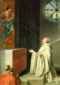 The Vision of St Bernard