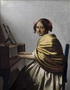 Young Woman Seated at the Virginals
