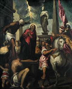 The Martyrdom of St Giustina