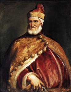 Portrait of Doge Andrea Gritti