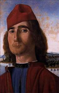 Portrait of an Unknown Man with Red Beret