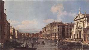 View of the Grand Canal at San Stae
