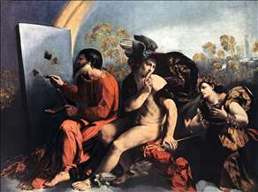 Jupiter, Mercury and the Virtue