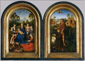 Diptych of Jean de Cellier