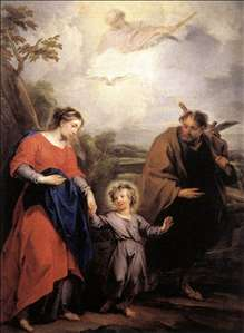 Holy Family and Trinity