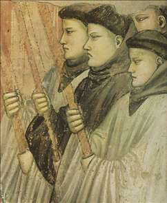 Scenes from the Life of Saint Francis: 4. Death and Ascension of St Francis