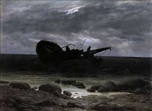Wreck in the Moonlight