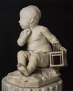 Infant with Cage