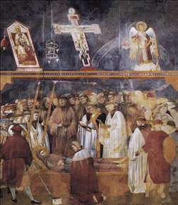 Legend of St Francis: 22. Verification of the Stigmata