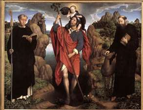Triptych of the Family Moreel (central panel)