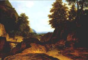 Valley with Travellers