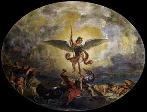 St Michael defeats the Devil