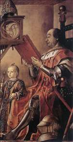 Prince Federico da Montefeltro and his Son