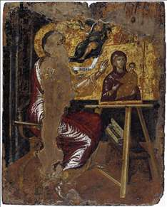 St Luke Painting the Virgin and Child