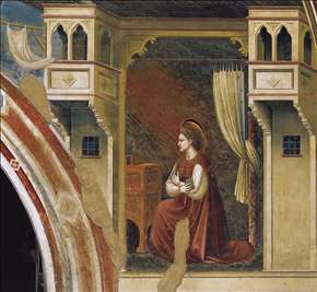 No. 15 Annunciation: The Virgin Receiving the Message