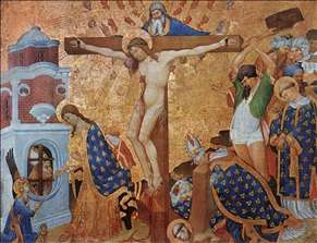 Calvary and the Martyrdom of St Denis