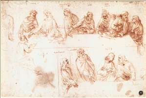 Study for the Last Supper
