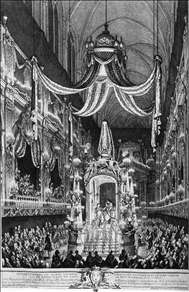 Funeral Pomp of the Dauphine, Marie-Thérèse of Spain