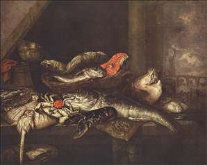 Still-life with Fishes
