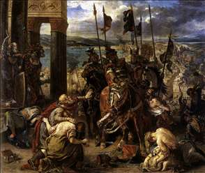 The Entry of the Crusaders into Constantinople