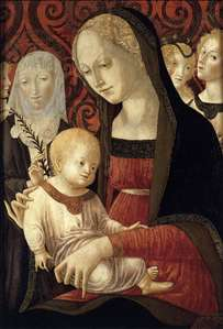 Virgin and Child with St Catherine and Angels
