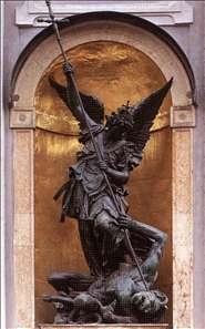 St Michael Slaying the Devil