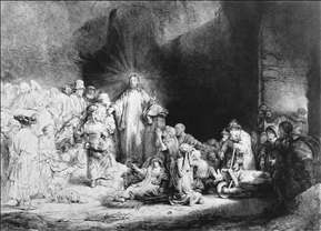 The Little Children Being Brought to Jesus (