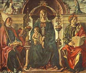 Madonna with the Child and Saints