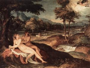 Landscape with Jupiter and Io