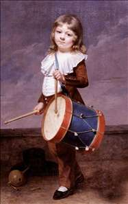Portrait of the Artist's Son as a Drummer
