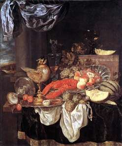 Large Still-life with Lobster