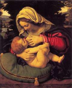 Madonna of the Green Cushion