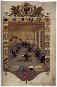 Meeting of the Regensburg Council