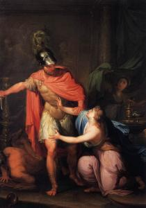 Odysseus with Circe