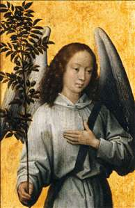 Angel with an Olive Branch, Emblem of Divine Peace
