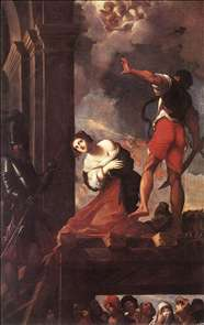 The Martyrdom of St Margaret