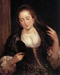 Woman with a Mirror