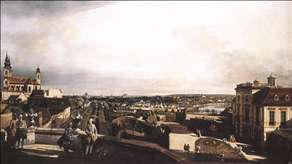 Vienna, Panorama from Palais Kaunitz