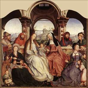 St Anne Altarpiece (central panel)