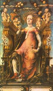 Ceres Enthroned