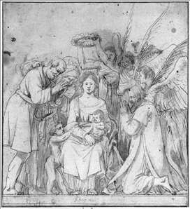 Madonna with Angels and Shepherds