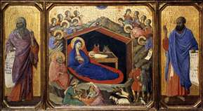 The Nativity between Prophets Isaiah and Ezekiel
