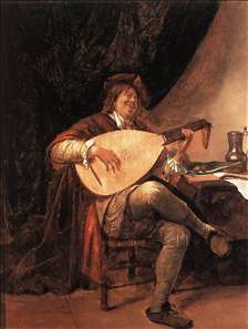 Self-Portrait as a Lutenist