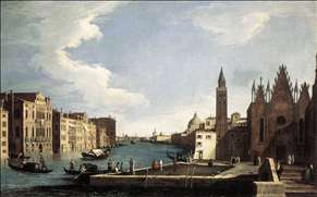 The Grand Canal with the Church of La Carità