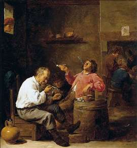Smokers in an Interior